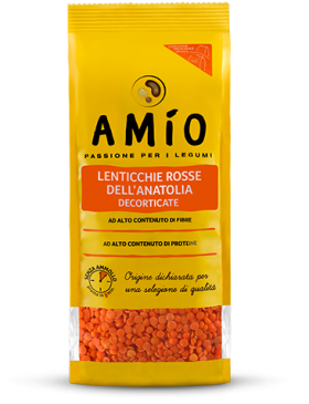 Red split lentils from anatolia