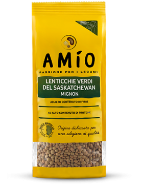 Green eston lentils from saskatchewan