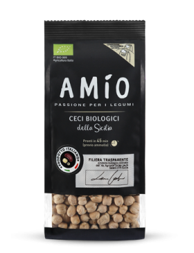 Organic chickpeas from Sicily