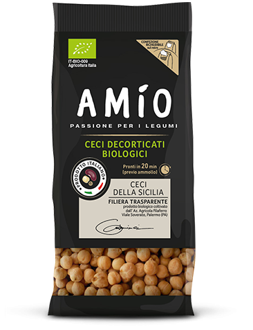 Organic Peeled Chickpeas