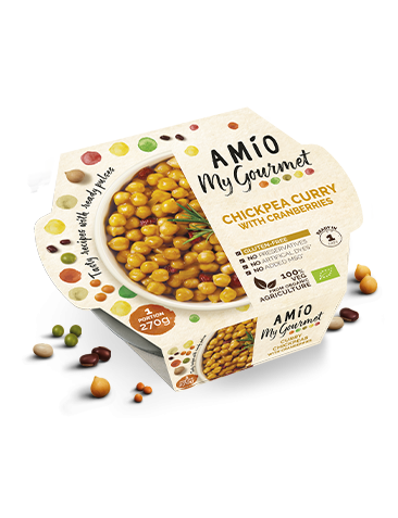 AMÍO My Gourmet chick pea curry whit cranberries